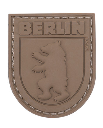 TACWRK - Berlin Bear Patch All Brown