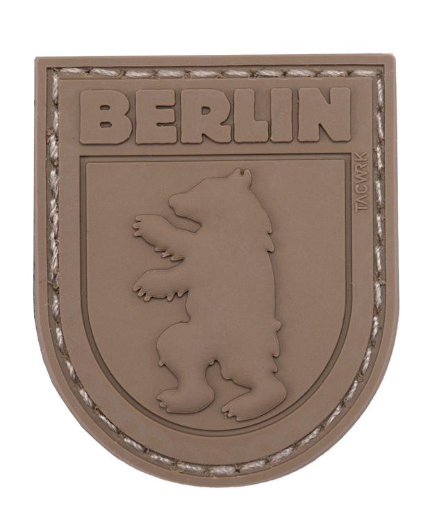 TACWRK Berlin Bear Patch All Brown