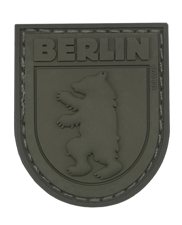 TACWRK Berlin Bear Patch All Olive