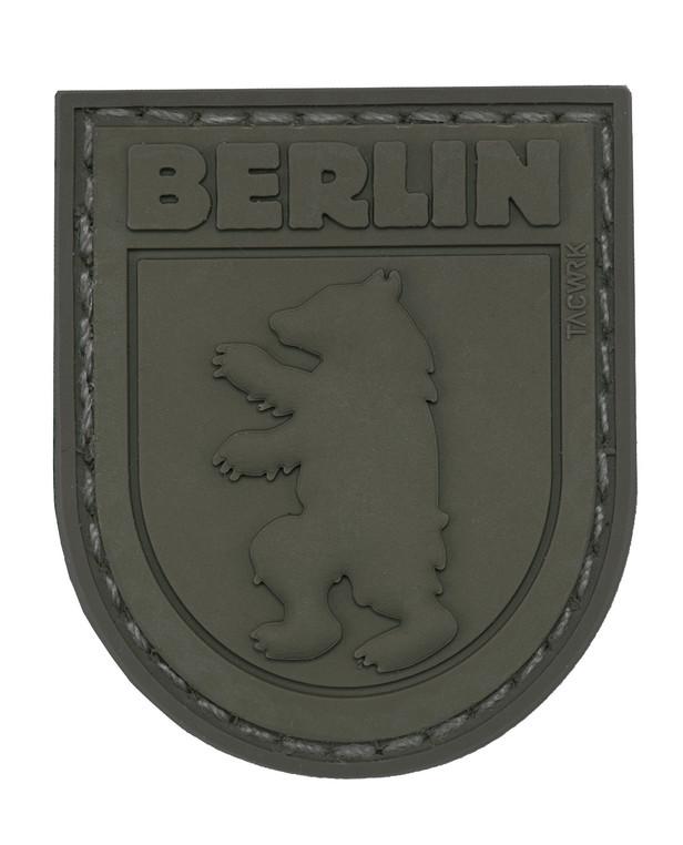 TACWRK Berliner Bär Patch All Olive