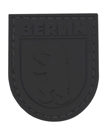 TACWRK - Berlin Bear Patch All Black