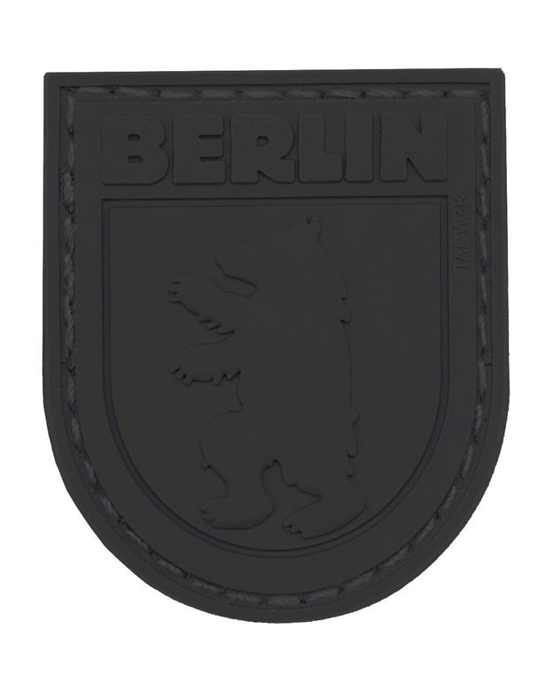 TACWRK Berlin Bear Patch All Black