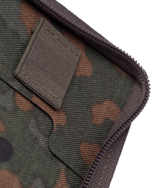 md-textil Dokumentenmappe A6 mit Reißverschluss 5 Farb Flecktarn