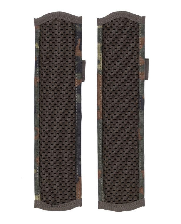 md-textil Plate Carrier Shoulder Pads MGS Flecktarn