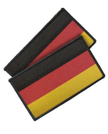 TACWRK - Woven German Flag Set of 2