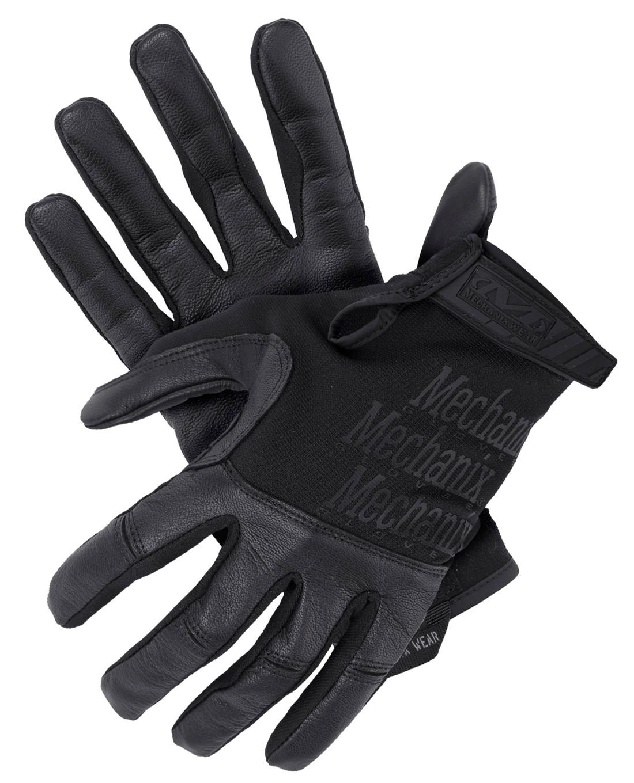 Khaki Fingerhandschuhe Mechanix Handschuh FastFit 4X Schwarz