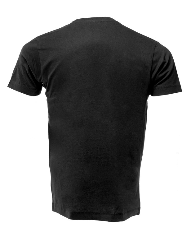 BeaverFit Dam Strong Logo T-Shirt Black on Black