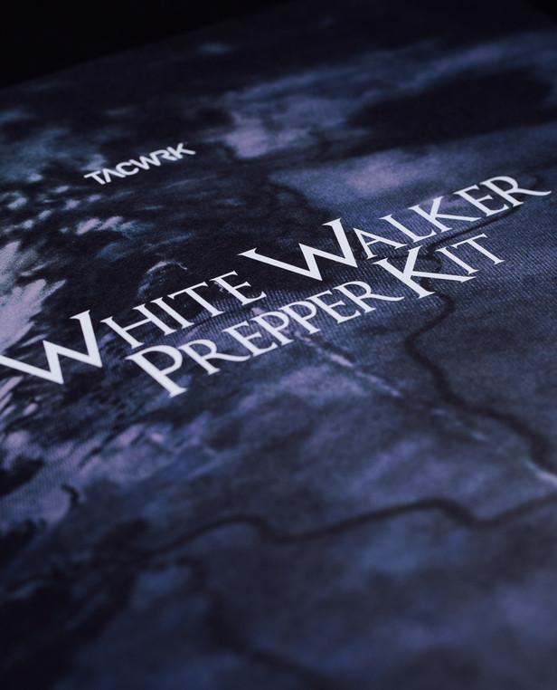 TACWRK White Walker Prepper Patch Set