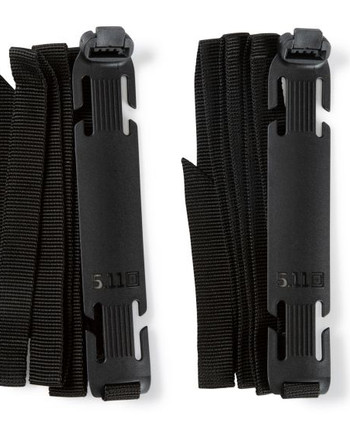 5.11 Tactical - Sidewinder Straps LG 2PK Black Schwarz