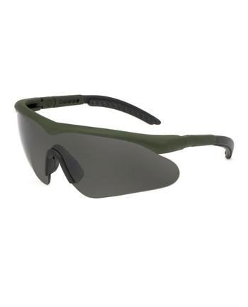 SwissEye - Schutzbrille Raptor Oliv