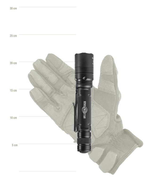 SureFire EDCL2-T Dual Output Black Schwarz