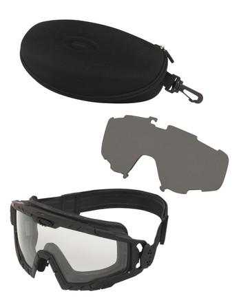 Oakley - SI Ballistic Goggle 2.0 Black Array Clear/Grey