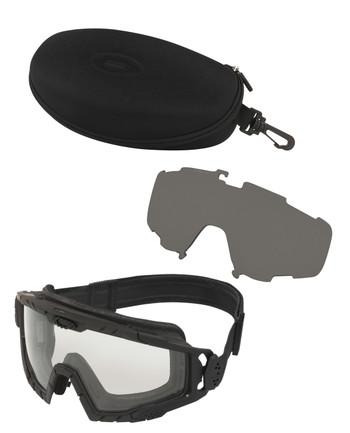 Oakley - SI Ballistic Goggle 2.0 Black Array Clear/Grey