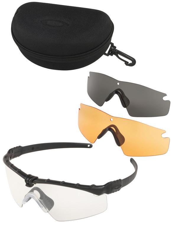 Oakley SI Ballistic M-Frame 3.0 Black Array Clear/Grey/Persimmon