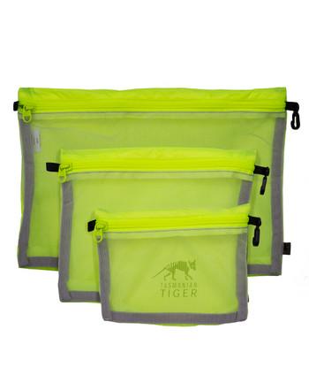 TASMANIAN TIGER - Mesh Pocket Set Safety Yellow