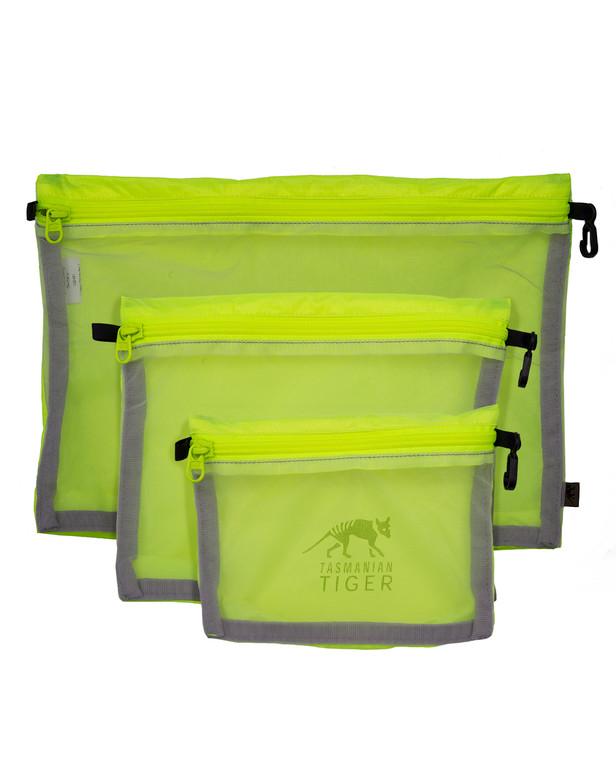 TASMANIAN TIGER TT Mesh Pocket Set Safety Yellow Gelb