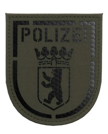 TACWRK - Police Berlin IR Patch Stonegrey Olive