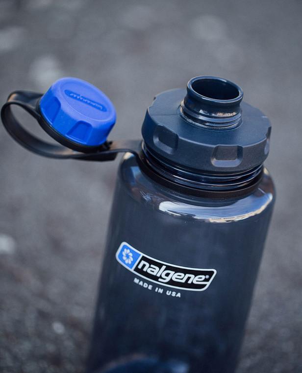 humangear capCAP+ Flaschendeckel Schwarz/Grau