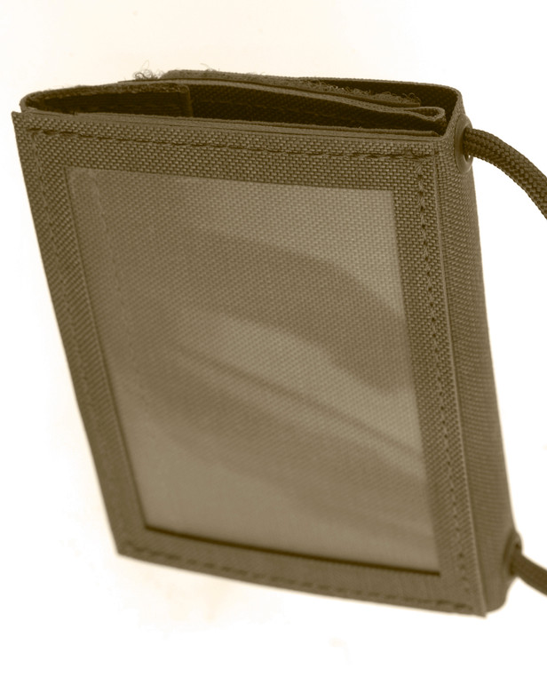 md-textil ID Card Wallet 2.0 Coyote Brown