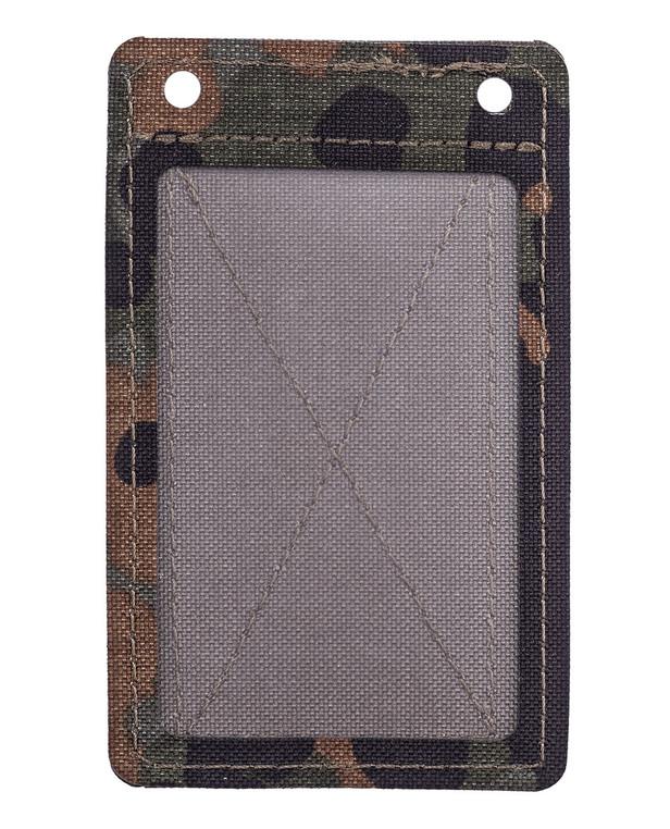 md-textil Dienstausweishalter klettbar 5 Farb Tarndruck