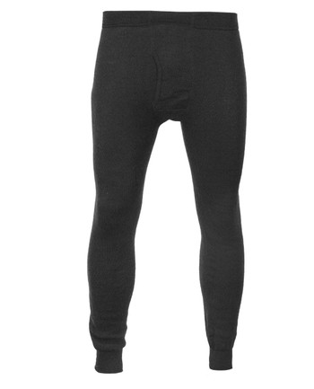 Woolpower - Long Johns Man 200 w/Fly Black