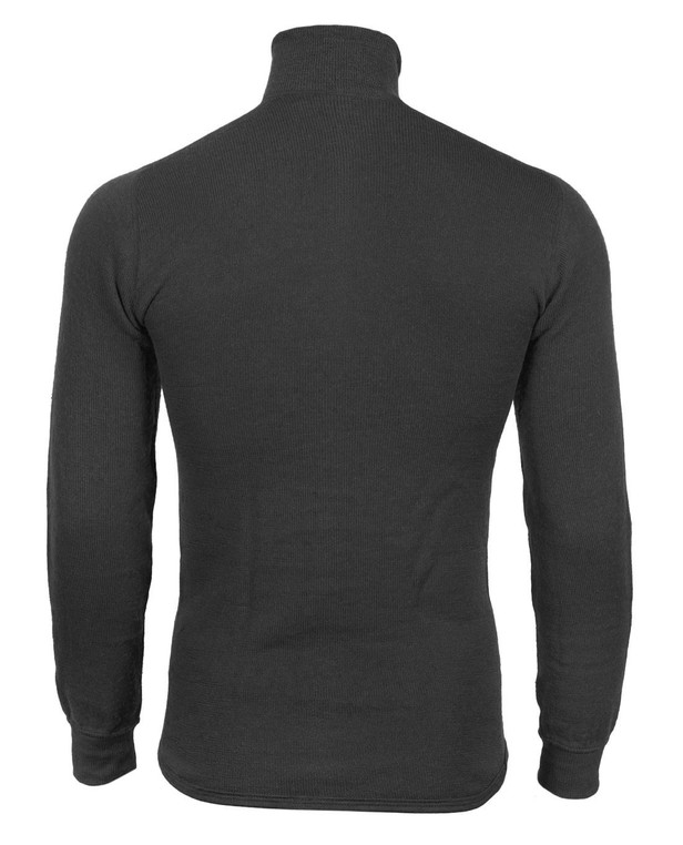 Woolpower Turtleneck 200 Black Schwarz