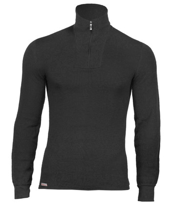 Woolpower - Turtleneck 200 Black Schwarz