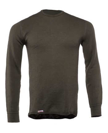 Woolpower - Crewneck 200 Pine Green