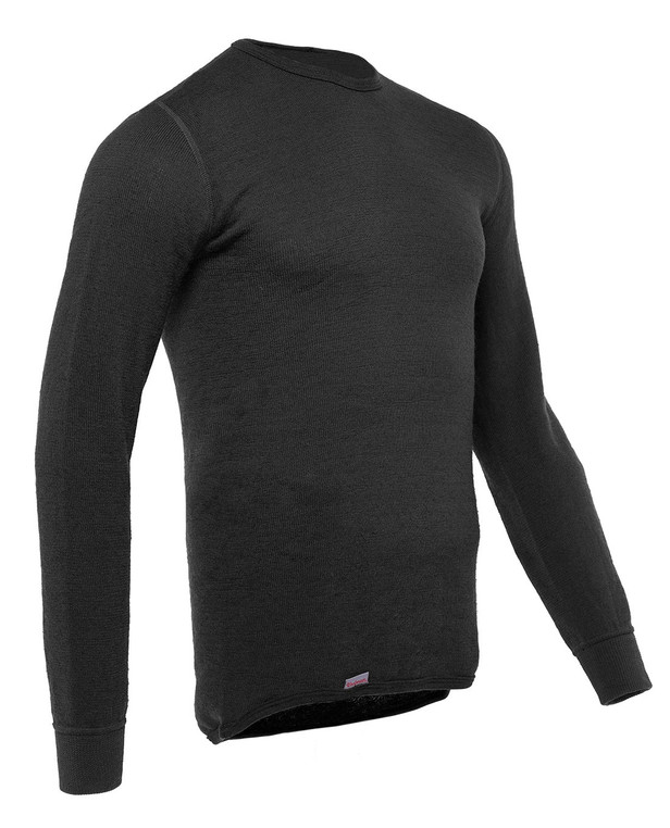 Woolpower Crewneck 200 Black