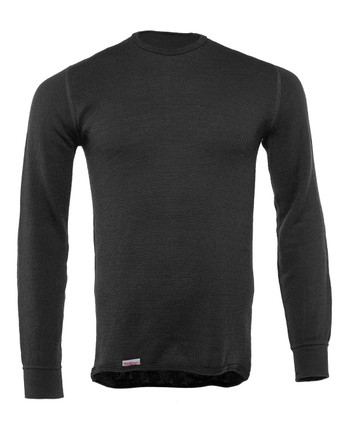 Woolpower - Crewneck 200 Black