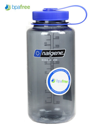 Nalgene - Nalgene Bottle Everyday Wide Mouth 1 L Grey