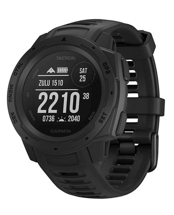 Garmin - Instinct Tactical Black Schwarz