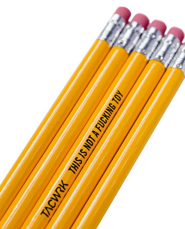 TACWRK Juliet Whiskey Pencil Set 5 pcs