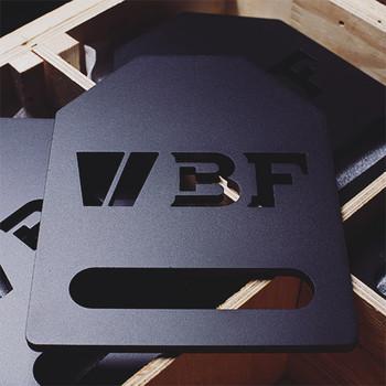 BeaverFit - SOE 2x10lb Flat Plates Gewichtsplatten Set