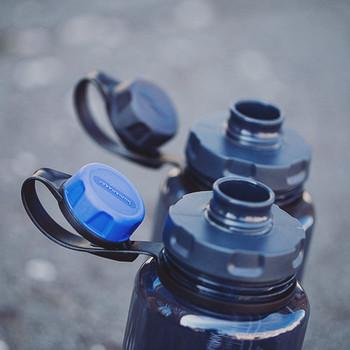 humangear - capCAP+ Flaschendeckel Schwarz/Grau
