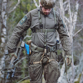 md-textil - Jed Belt MGS inkl. Versteifung Schwarz