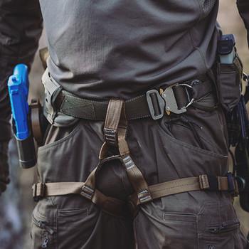 md-textil - Beinschlaufen MGS Schwarz