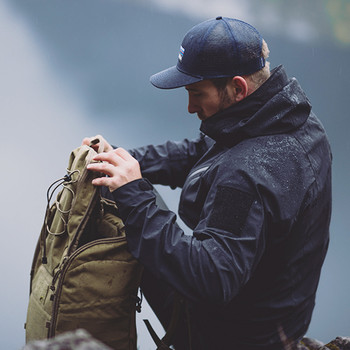TASMANIAN TIGER - Dakota Rain M´s Jacket MK II Black Schwarz