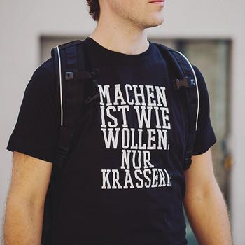 TACWRK - Machen Wollen Shirt Black