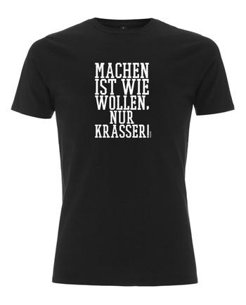 TACWRK - Machen Wollen Shirt Black Schwarz