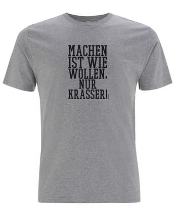 TACWRK - Machen Wollen Shirt Grey