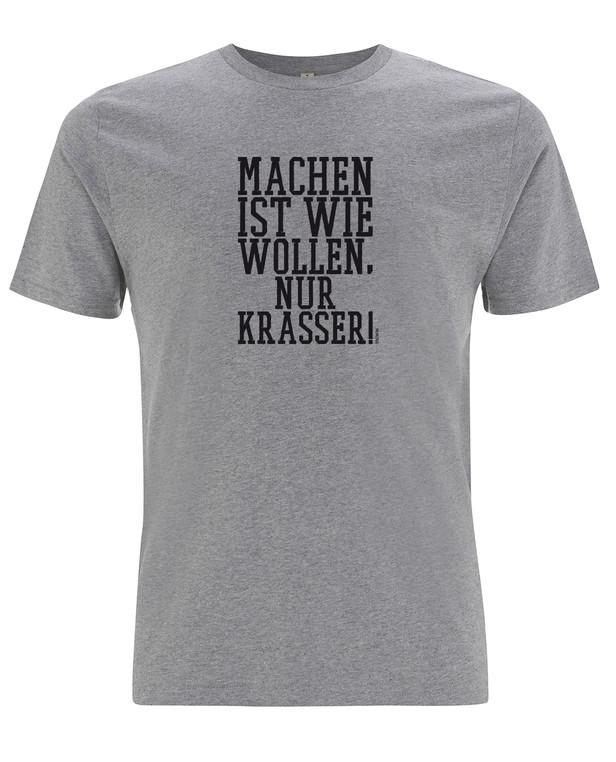 TACWRK Machen Wollen Shirt Grey