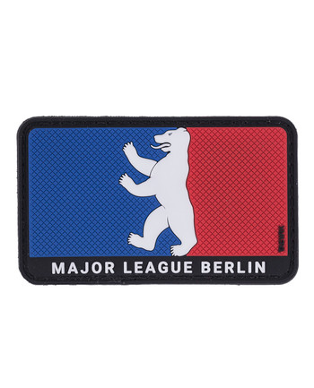 TACWRK - Major League Berlin Bär Rubber patch