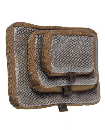 TASMANIAN TIGER - TT Mesh Pouch VL Set Coyote Brown