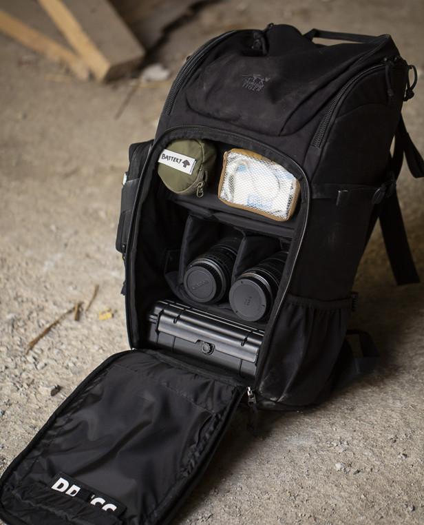 TASMANIAN TIGER TT Modular 30 Camera Pack Oliv