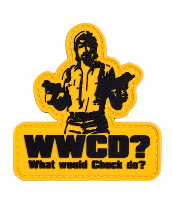 TACWRK - WWCD What would Chuck do Patch