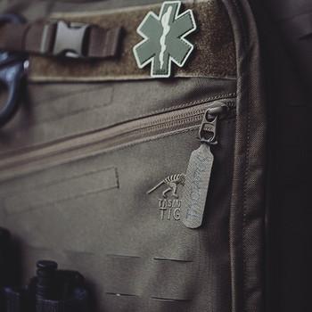 TACWRK - Paramedic Patch Black/GITD