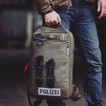 TACWRK - Paramedic Patch Oliv/GITD