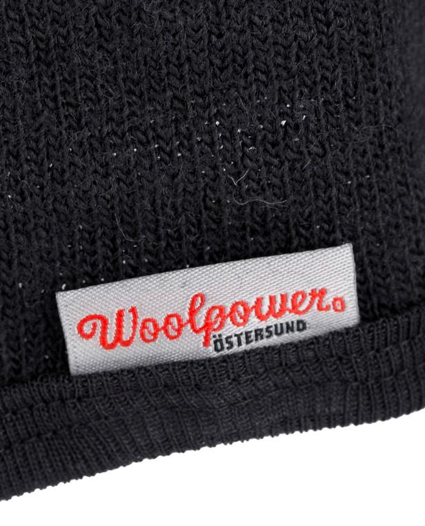 Woolpower Zip Turtleneck 400 Schwarz