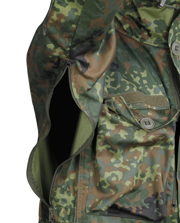 Leo Köhler Combat Jacket KSK Smock Flecktarn